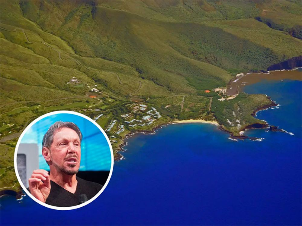 Many CEOs make expensive home and land purchases, but perhaps none more so than Oracle founder Larry Ellison. In 2012, the billionaire purchased 98% of the Hawaiian island Lanai.