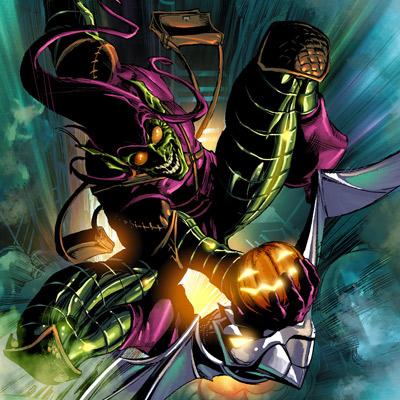 Green Goblin Comic Book