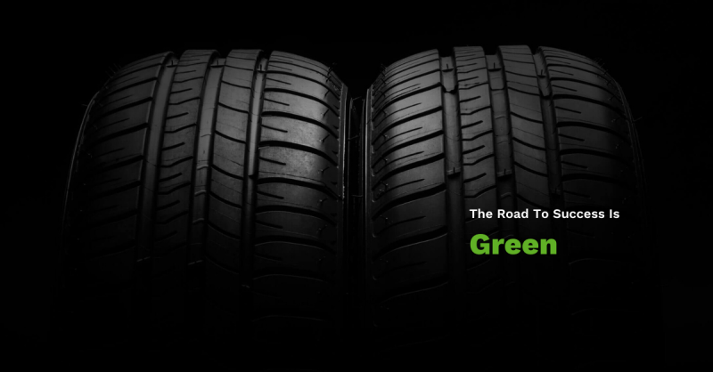 The Road to Success is Green
