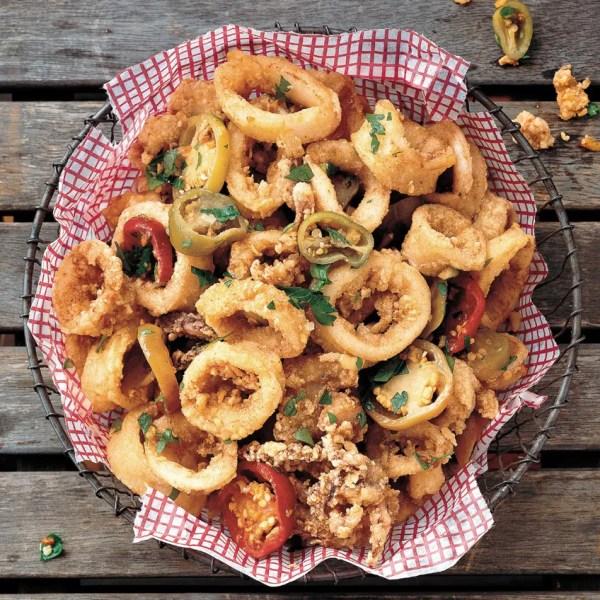 Spicy and Greasy Rhode Island Calamari recipe Epicuriouscom