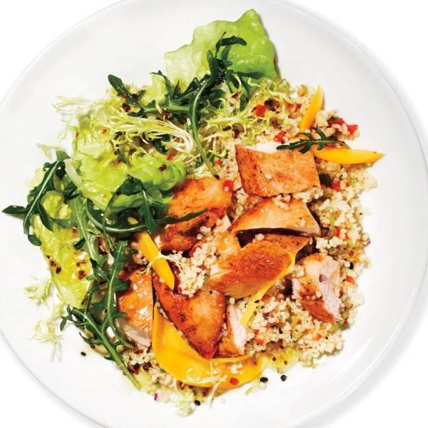 Mango Chicken Salad with Couscous recipe Epicuriouscom