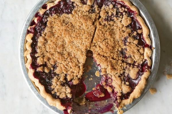 Blueberry Crumble Pie recipe Epicuriouscom