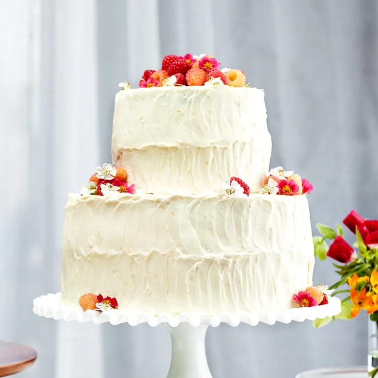 Easy Homemade Wedding Cake Epicurious