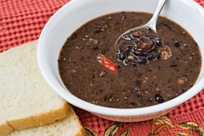 Image result for black bean soup