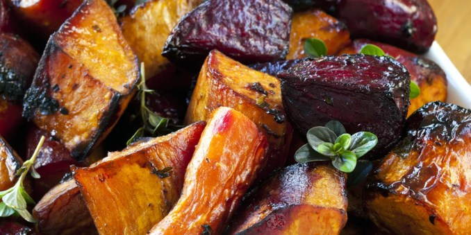 Balsamic Roasted Vegetables recipe | Epicurious.com