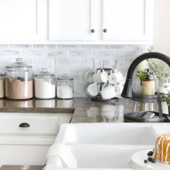 Inexpensive Kitchen Countertops Cabinets Manufacturers 7 Diy Backsplash Ideas That Are Easy And ...