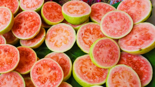 guava is very rich in vitamin-c and helps to keep blood sugar level