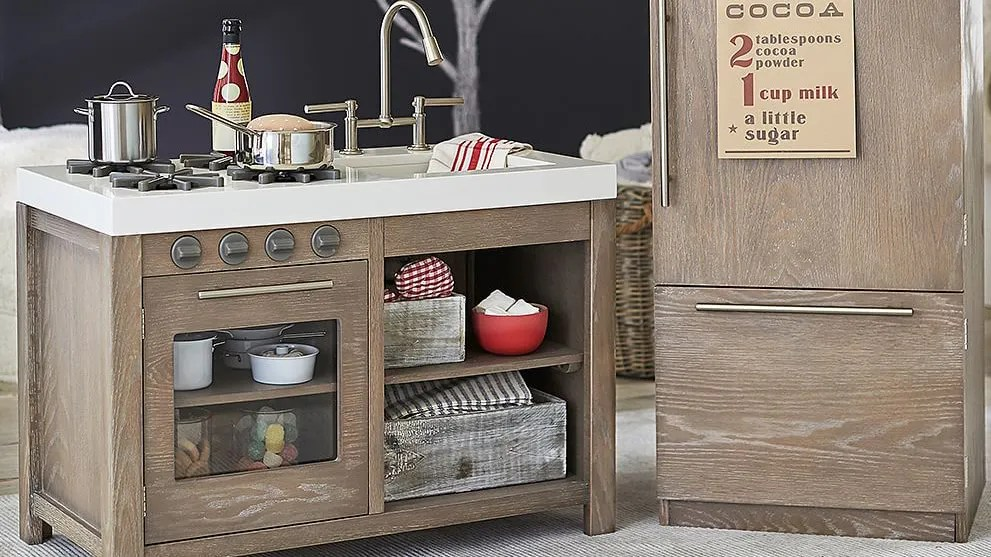 kids wood kitchen shelf liner 13 impressive play sets for and adults epicurious
