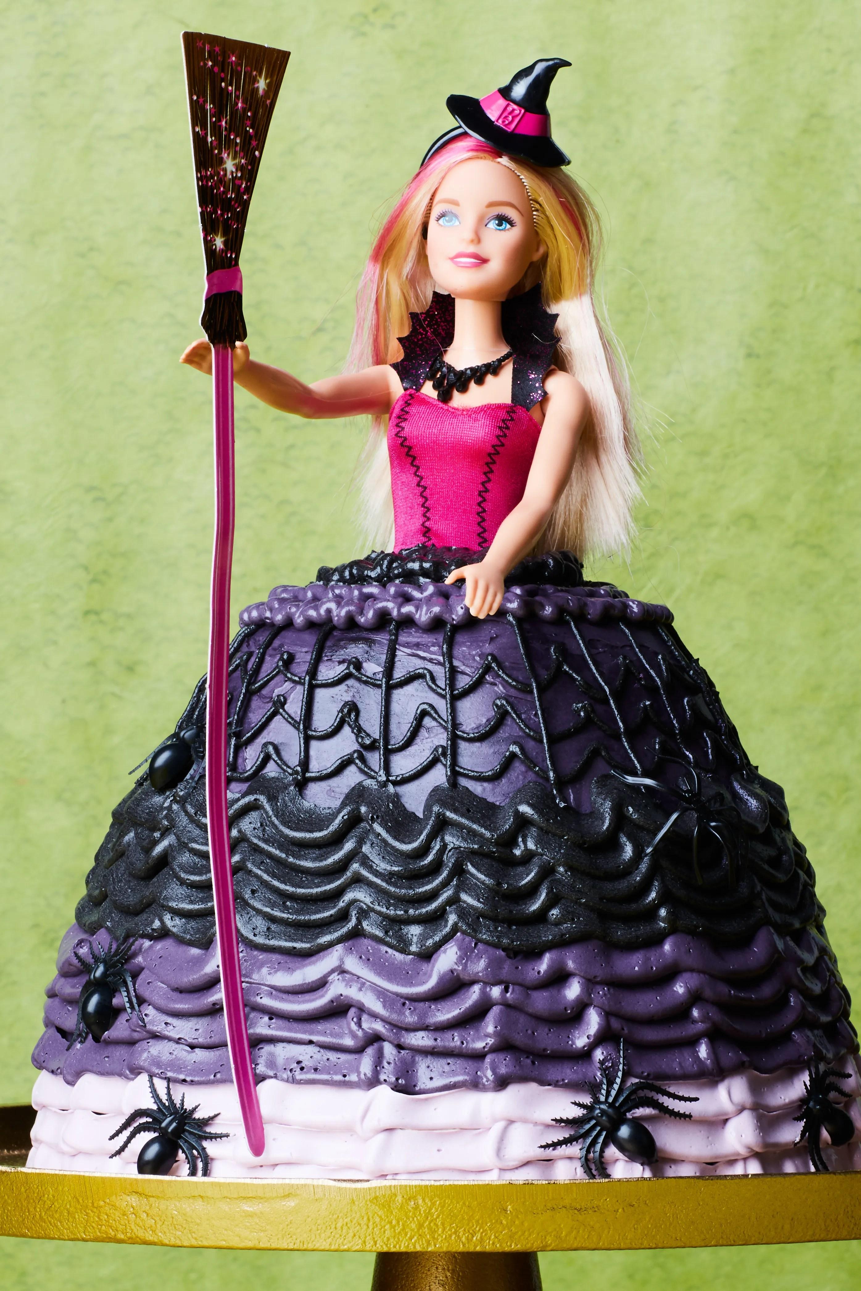 How To Make A Barbie Cake For Halloween Epicurious