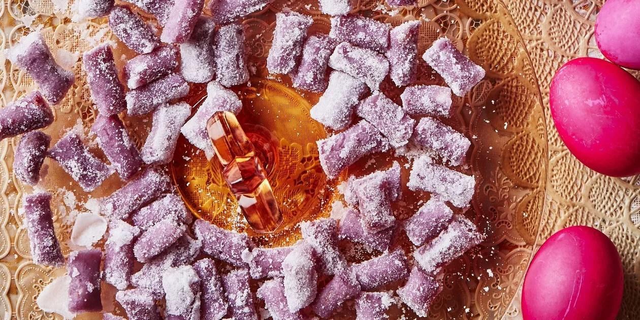Ube Purple Yam Candies Recipe Epicurious Com