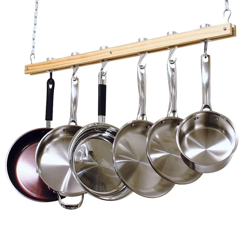 kitchen pot racks cabintes the best hanging for your epicurious