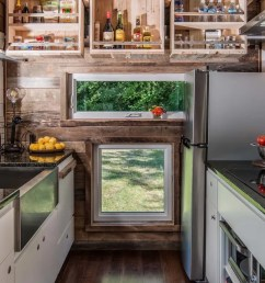 tiny house kitchens are surprisingly functional [ 1280 x 720 Pixel ]