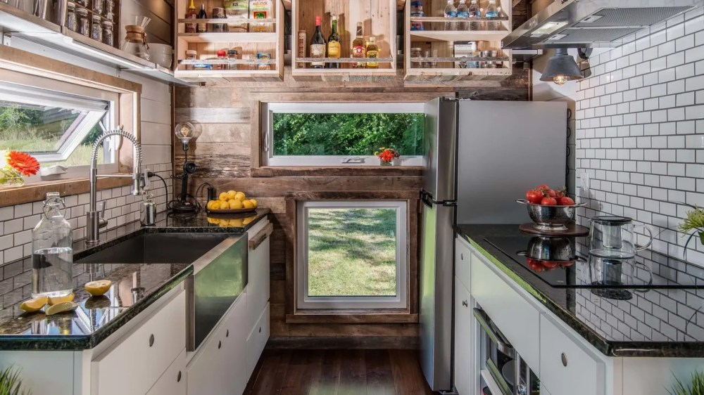 medium resolution of tiny house kitchens are surprisingly functional