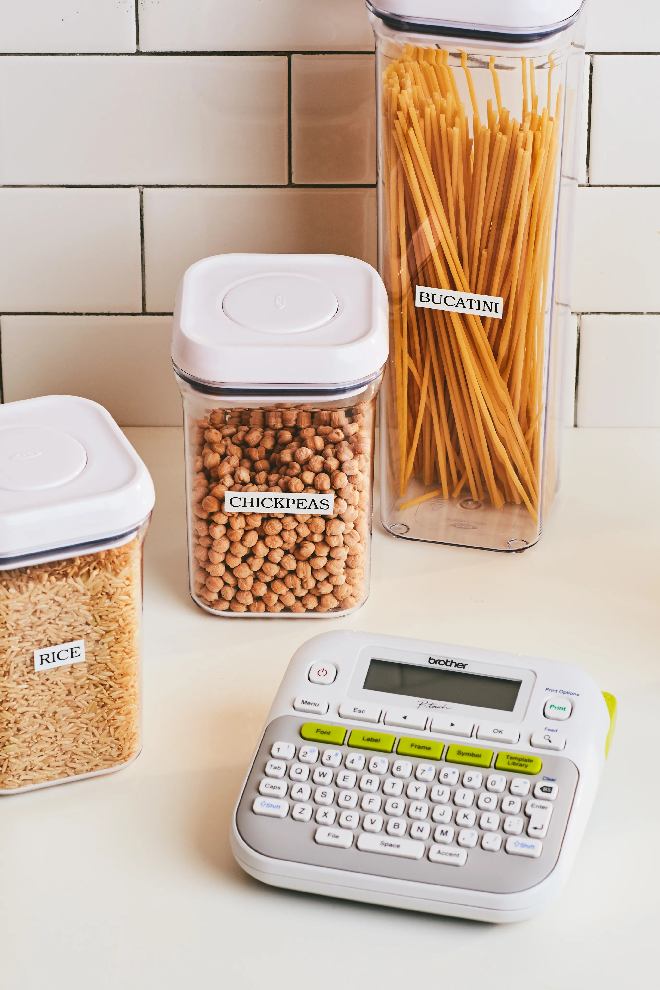 Big Name In Label Makers : label, makers, Label, Maker, Obsessive, Organizing, Needs, Epicurious