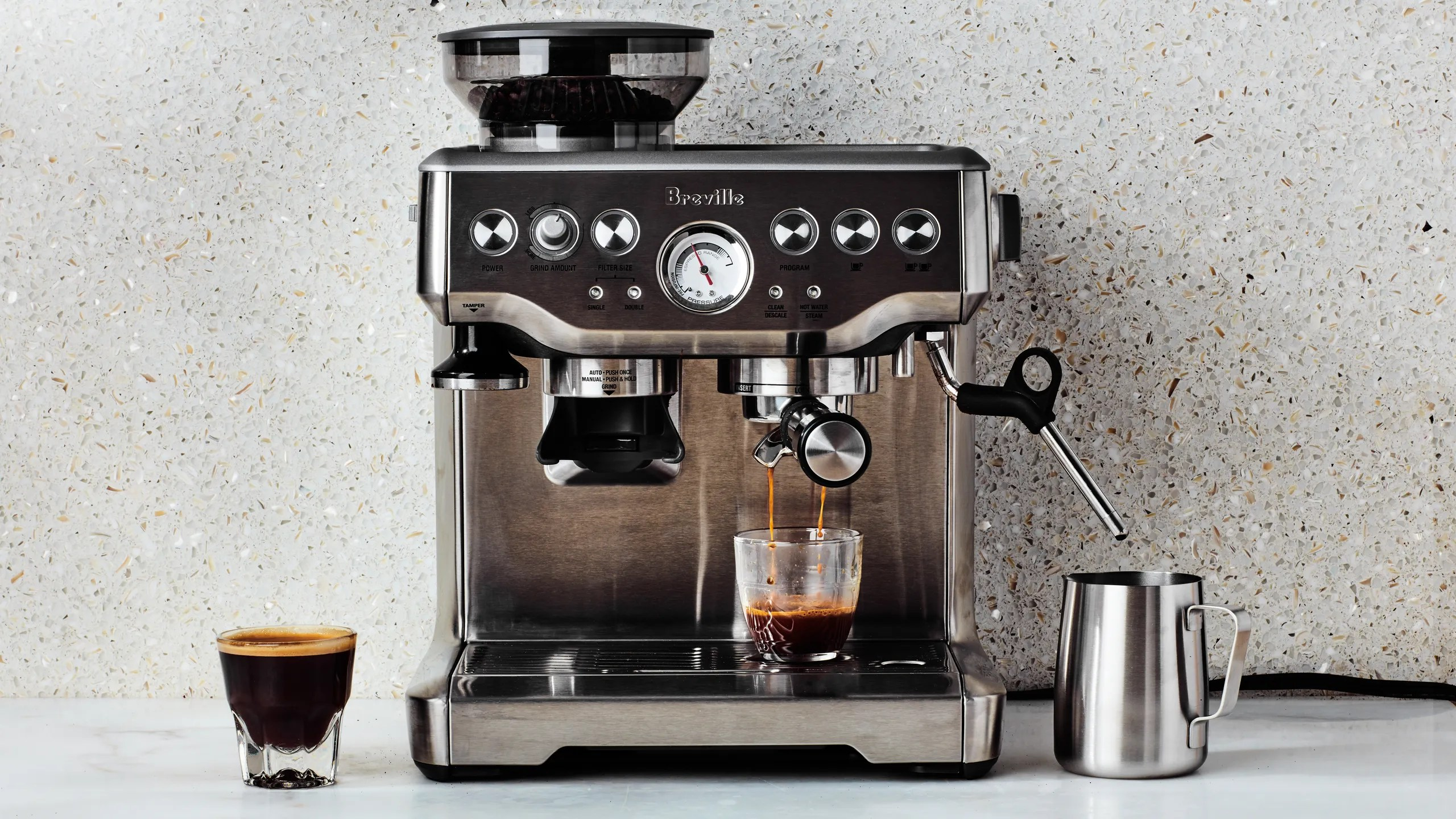 Best Espresso Machines Of Breville De Longhi And