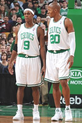 Rondo and Ray: inconsistent as theyve been, we are looking for a big game tonight from 1 or 2 of em.