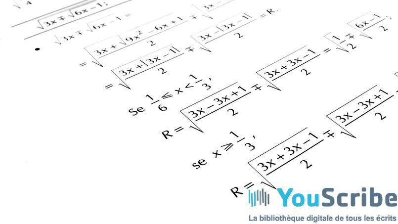 Sujets et corrigés de l'épreuve de mathématiques du bac ES