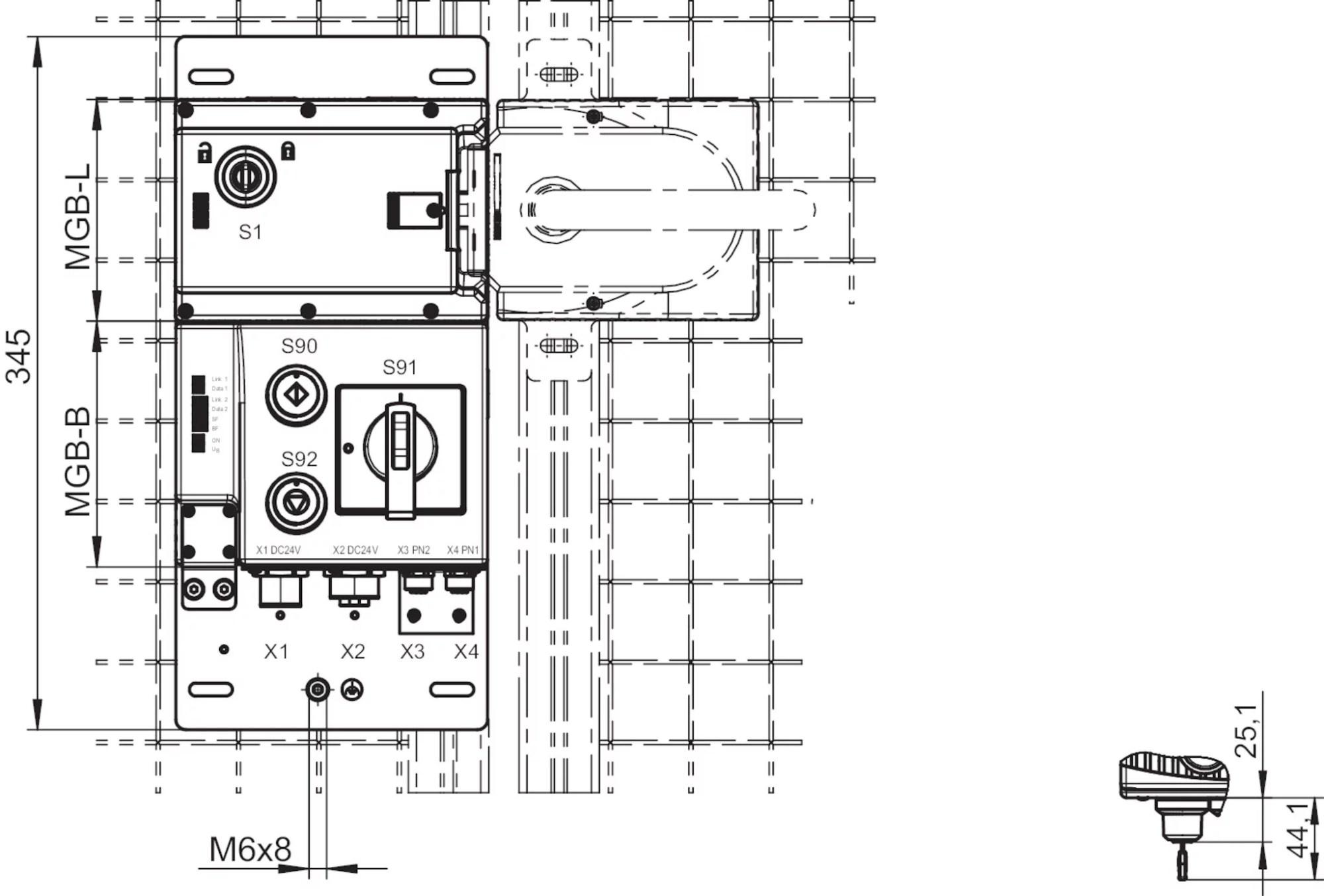 hight resolution of mgb l0b pna l 113615 euchner u2013 more than safety pna l block diagram