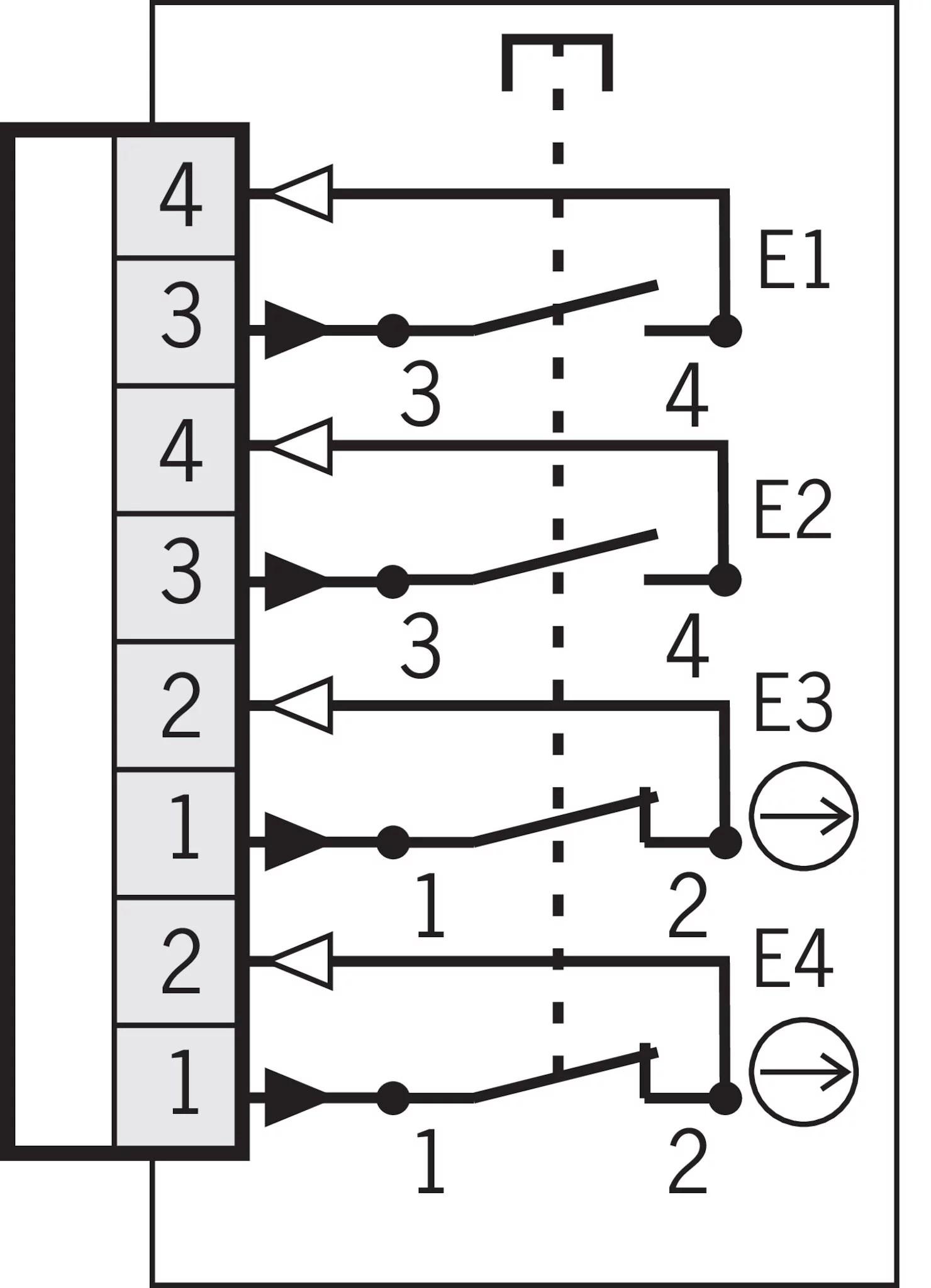 ZSE2-4C1801 ZSE, 3-stage | EUCHNER