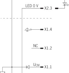circuit diagram connection solenoid operating voltage plug s1 a free wheeling diode is already integrated into each cem  [ 1363 x 2048 Pixel ]