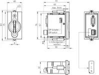 EKS-A-IDX-G01-ST09/03 Electronic-Key adapter with PROFIBUS
