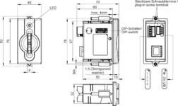 EKS-A-IIXA-G01-ST02/03/04 Electronic-Key adapter with