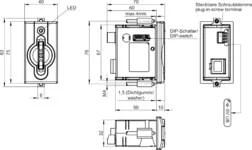 EKS-A-IIX-G01-ST02/03 Electronic-Key adapter with PROFINET