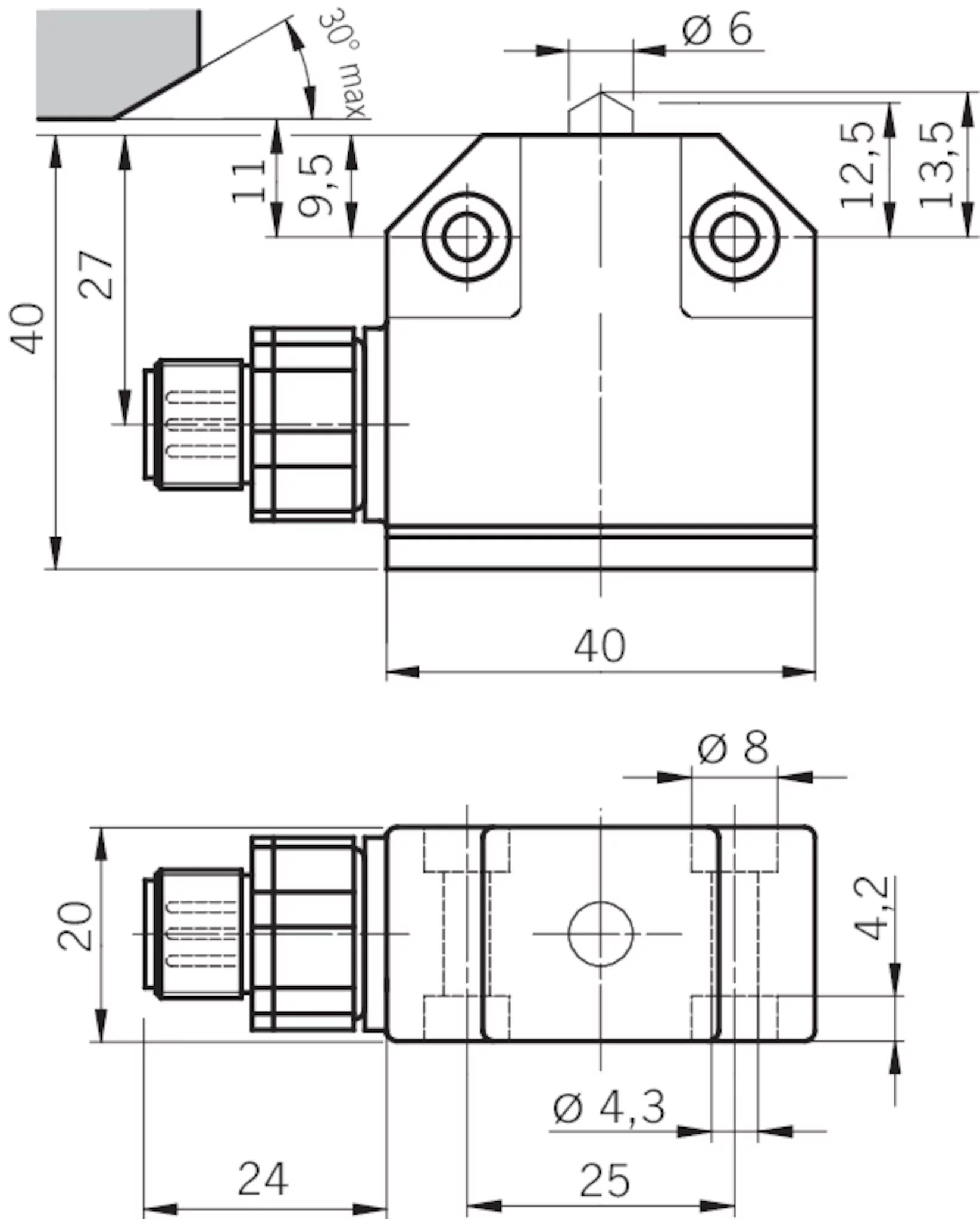M12 Connector Wiring Diagram
