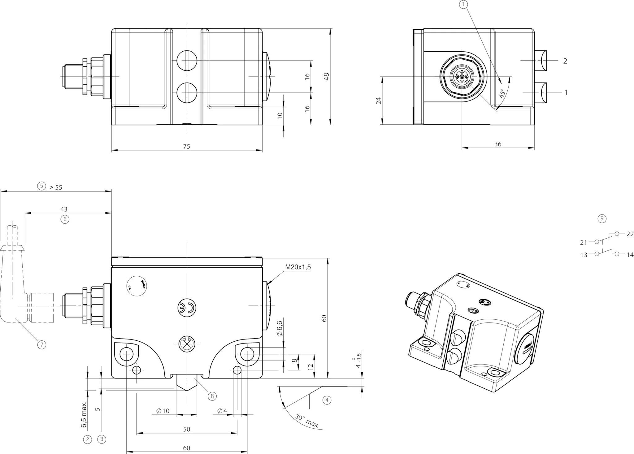 SN02D16-502-MC1939 | EUCHNER