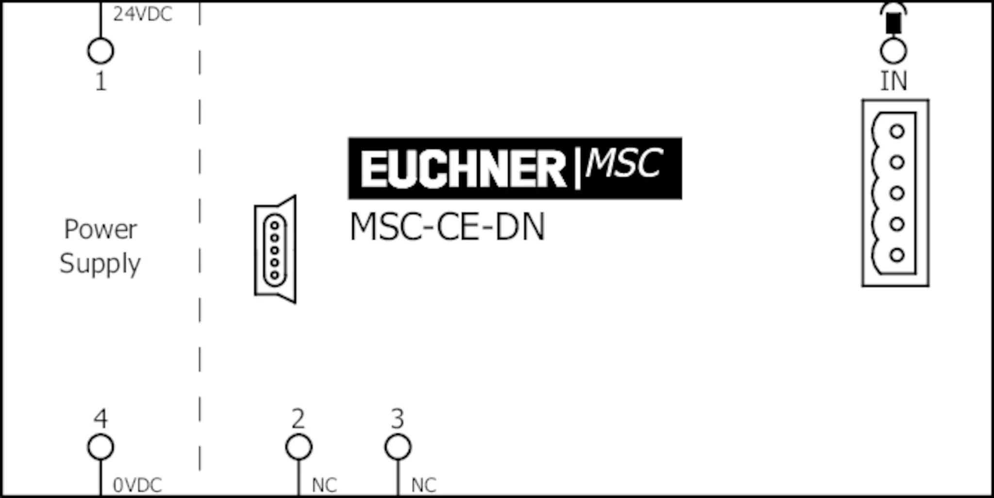 MSC-CE-DN-121311 Expansion device MSC-CE | EUCHNER