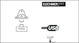 EKS-A-IUX-G01-ST01 Electronic-Key adapter with USB