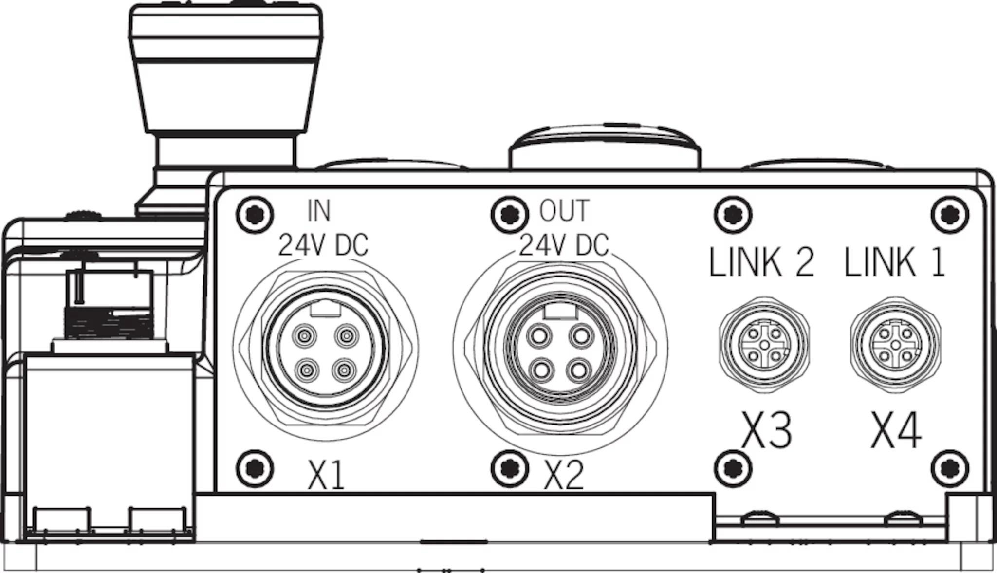 MGB-L2HB-EIA-R-162816 Locking set MGB-L2...-EI (guard