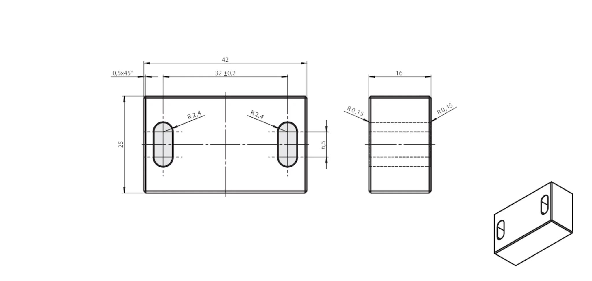 AM-SET-PPB-119694 Mounting set AM-SET-PPB | EUCHNER