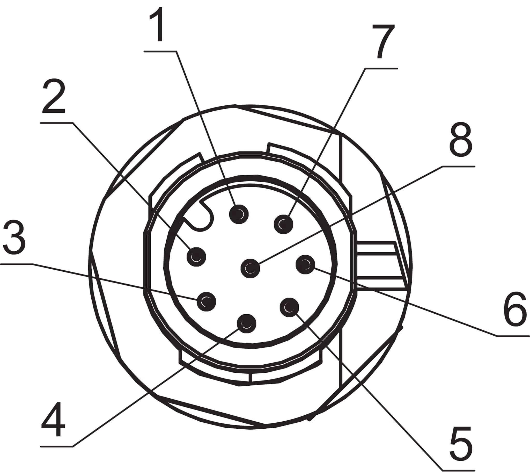 M12 Connector 4 Pin Wiring Diagram