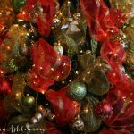 Fancy Christmas Tree Deco Mesh Video Tutorial Fancy Ashley