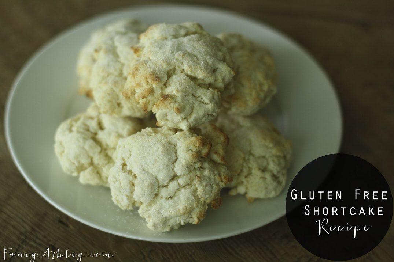 Gluten Free Shortcake Recipe // Fancy Ashley