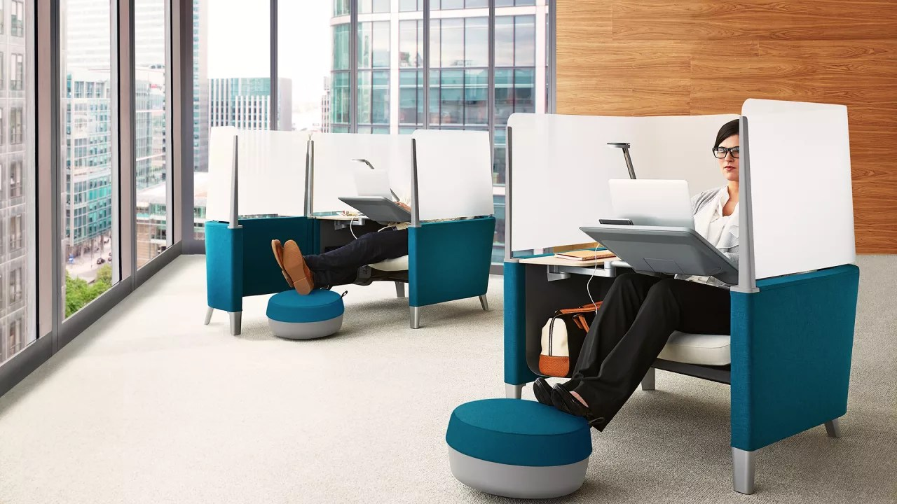 office chair cad block bedroom club can't focus in your open office? wrap yourself this | fast company