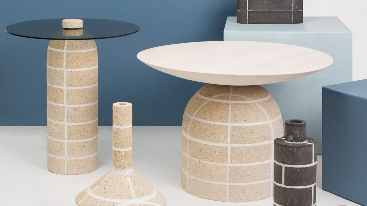 This Furniture Collection Elevates Brick From A Humble