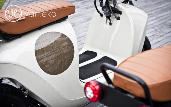 This Smokin' New Scooter Is Made With Hemp