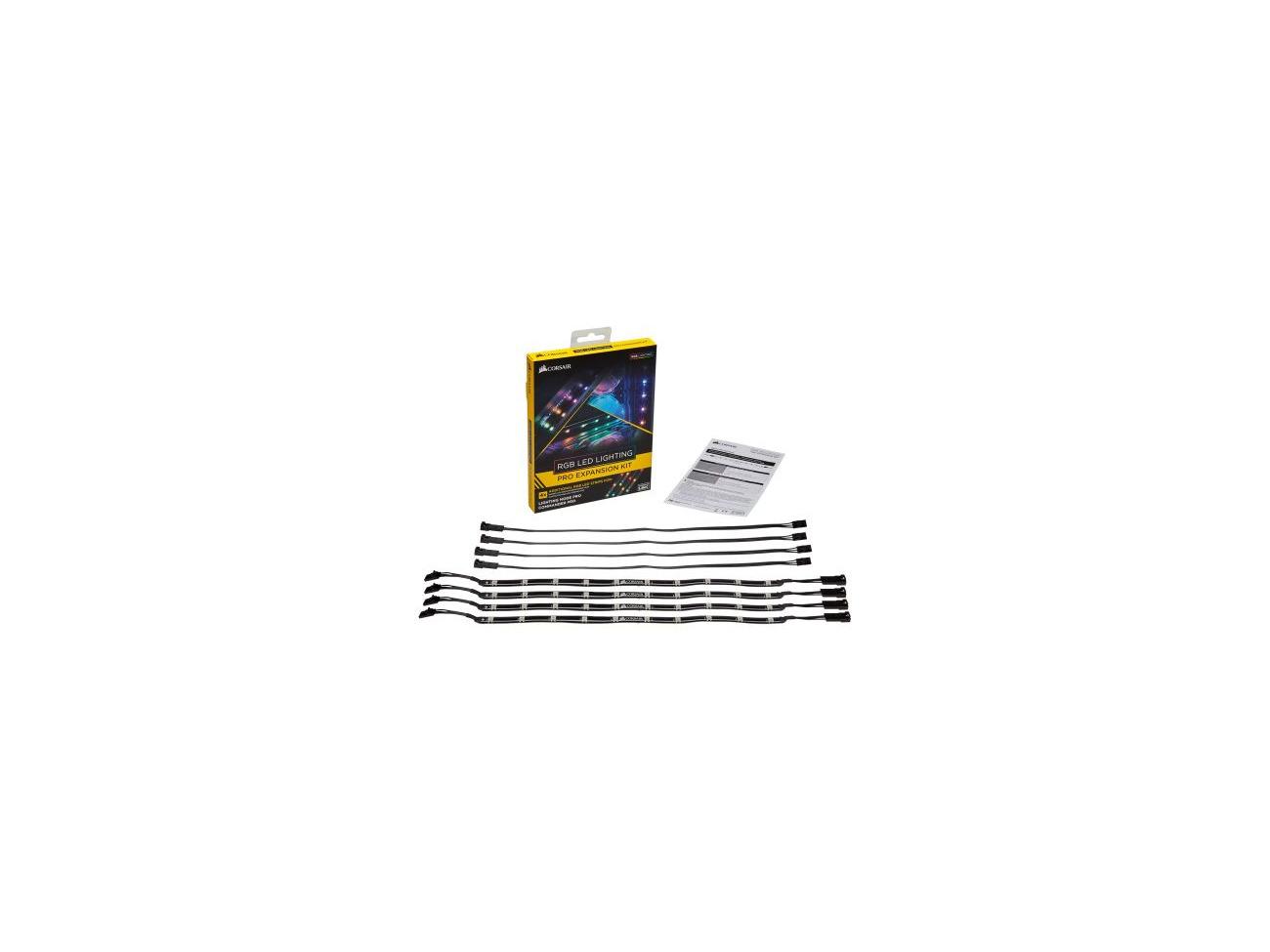 Buy Corsair Rgb Led Lighting Pro Expansion Kit 4 X