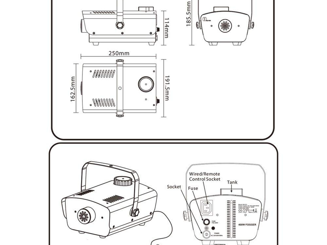 Wiring Diagram For Fog Machine