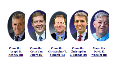 All white dude council
