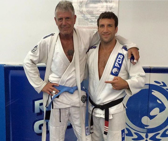 Image result for anthony bourdain Brazilian Jiu Jitsu,