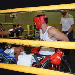 Wheelchair Fight Ostrich 3 In 1 Beach Chair 39tonight We Made History 39  Meet The Disabled Boxers