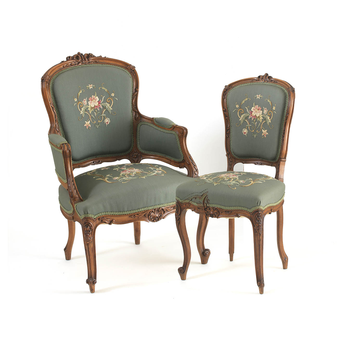 gentlemans chair west elm covers a louis xv style carved walnut and lady