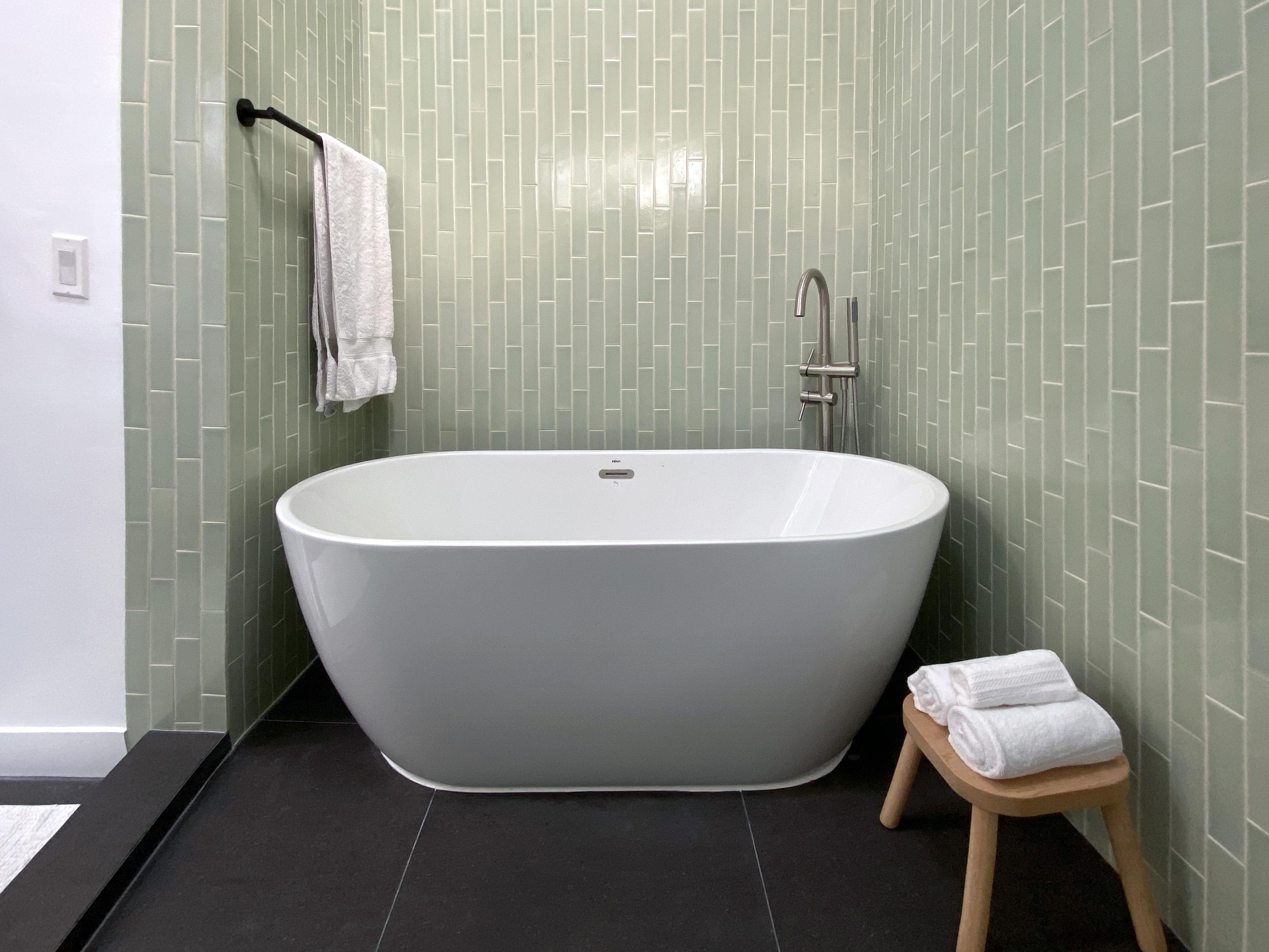 cool green bathroom tiles fireclay