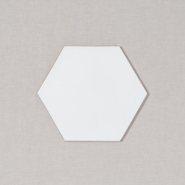 8 hexagon fireclay tile