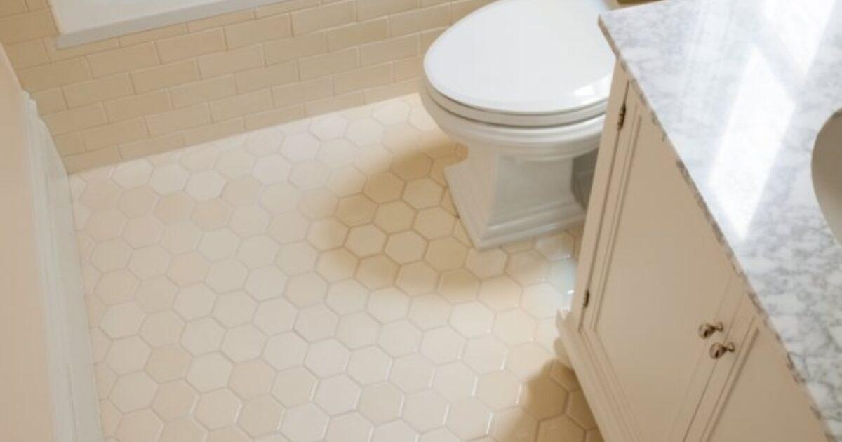 right hexagon tile