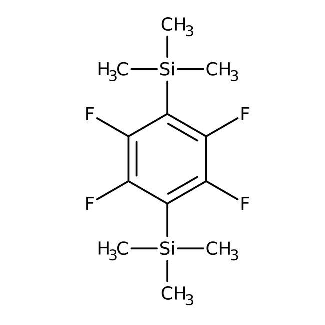 Alfa Aesar™ 1,4-Bis(trimethylsilyl)tetrafluorobenzene, 99%