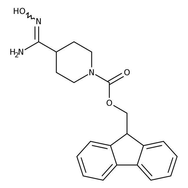 Alfa Aesar™ 1-Fmoc-piperidine-4-carboxamidoxime, 97%